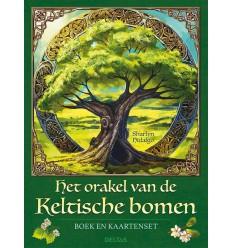 Het orakel van de keltische bomen boek en kaart 1 set |