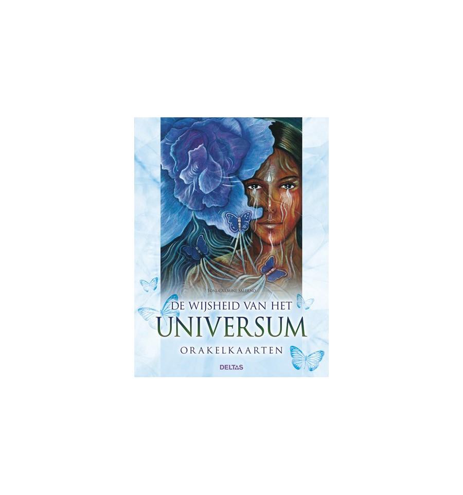 Wijsheid van het universum boek en orakelkaarten 1 set