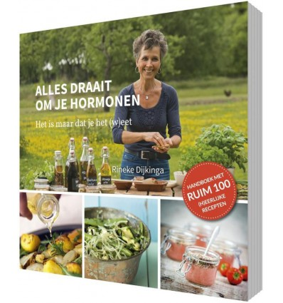 Boeken en folders Rineke Books Alles draait om je hormonen kopen