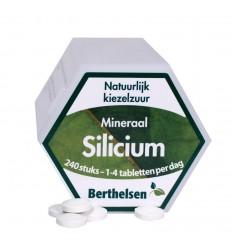 Berthelsen Silicium 20 mg 240 tabletten   Superfoodstore.nl