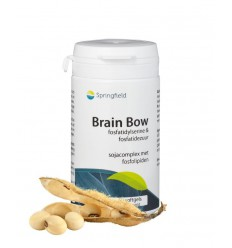 Springfield Brain bow 60 softgels | Superfoodstore.nl
