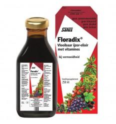 Salus Floradix ijzer elixer 250 ml | Superfoodstore.nl