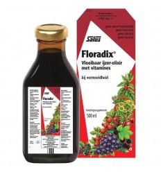 Salus Floradix ijzer elixer 500 ml | Superfoodstore.nl