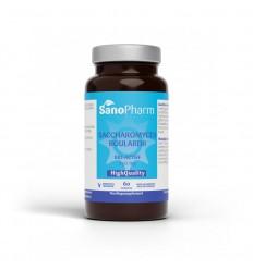 Sanopharm Saccharomyces boulardii 60 capsules | € 14.45 | Superfoodstore.nl