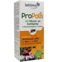 La Drome Propolis keel- en mondspray bio 30 ml |