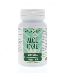 Aloe Care Aloe vera tabletten 60 tabletten | € 10.91 | Superfoodstore.nl