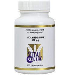 Vital Cell Life Molybdenum 500 mcg 100 capsules |