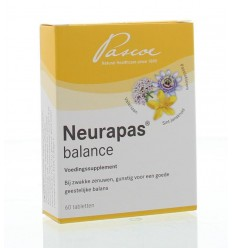 Pascoe Neurapas 60 tabletten | € 17.69 | Superfoodstore.nl