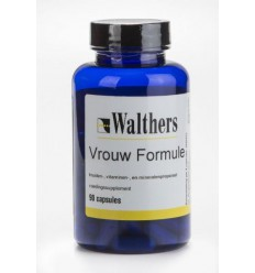 Walthers Vrouw formule 90 capsules | Superfoodstore.nl