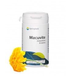 Springfield Macuvite 100 vcaps | € 23.69 | Superfoodstore.nl