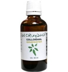 Cruydhof Colloidaal goudwater 50 ml | Superfoodstore.nl