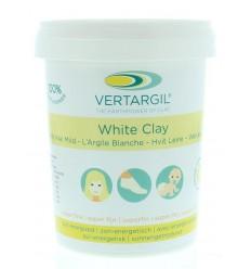 Vertargil Witte leem uitwendig 250 gram   Superfoodstore.nl