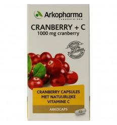 Arkocaps Cranberry & Vitamine C 45 capsules | Superfoodstore.nl