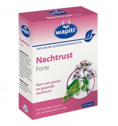 Wapiti Nachtrust forte 40 dragees | € 7.79 | Superfoodstore.nl