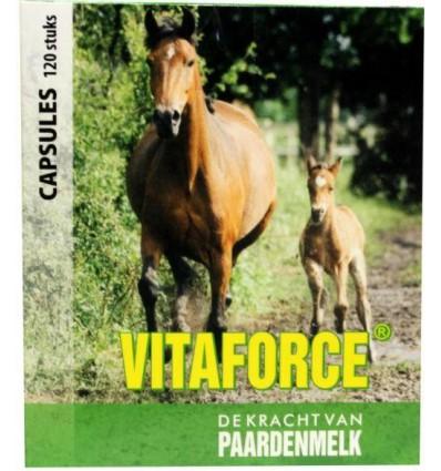 Vitaforce Paardenmelk capsules 120 capsules