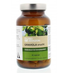 Rio Amazon Graviola 60 vcaps | Superfoodstore.nl
