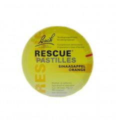 Bach Rescue pastilles sinaasappel 50 gram | Superfoodstore.nl
