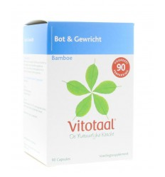 Vitotaal Bamboe 90 capsules | Superfoodstore.nl