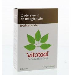 Vitotaal Zoethoutwortel 45 capsules | Superfoodstore.nl