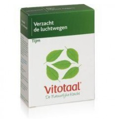Vitotaal Tijm 45 capsules | Superfoodstore.nl