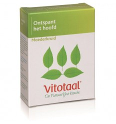 Vitotaal Moederkruid 45 capsules | Superfoodstore.nl