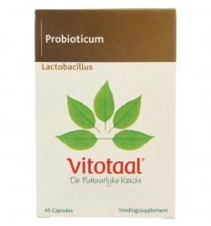 Vitotaal Lactobacillus 45 capsules | Superfoodstore.nl