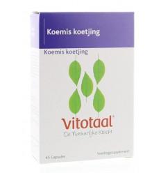 Vitotaal Koemis koetjing 45 capsules | Superfoodstore.nl