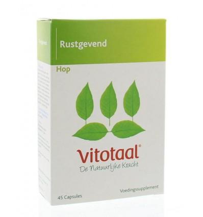 Voedingssupplementen Vitotaal Hop 45 capsules kopen