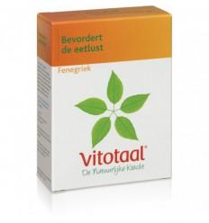 Vitotaal Fenegriek 45 capsules | Superfoodstore.nl