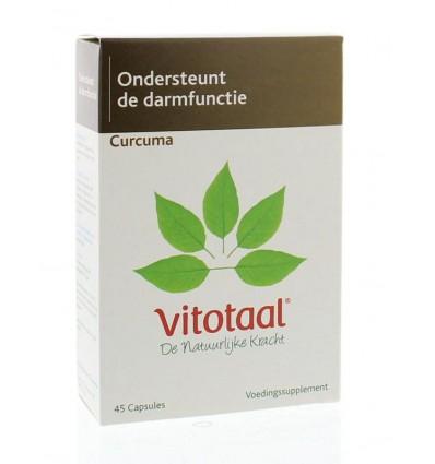 Vitotaal Curcuma 45 capsules