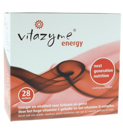 Vitazyme Energy 28 sachets | Superfoodstore.nl