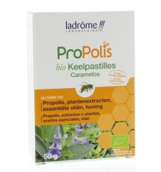 La Drome Propolis keelpastille bio 50 gram | Superfoodstore.nl