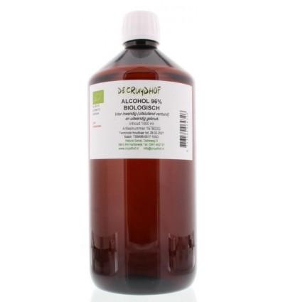 Cruydhof Alcohol 96% inwendig en uitwendig 1 liter | € 80.08 | Superfoodstore.nl