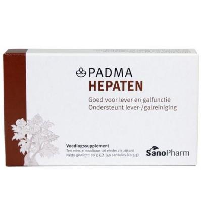 Sanopharm Padma hepaten 40 capsules | € 16.69 | Superfoodstore.nl