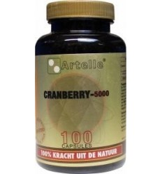 Artelle Cranberry 5000 mg 100 capsules | Superfoodstore.nl