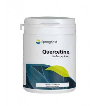 Springfield Quercetine 250 mg 120 vcaps | Superfoodstore.nl