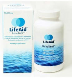 Lifeaid Immutines 90 vcaps | € 38.10 | Superfoodstore.nl