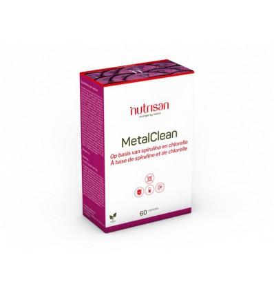Nutrisan Metal Clean 60 capsules | Superfoodstore.nl