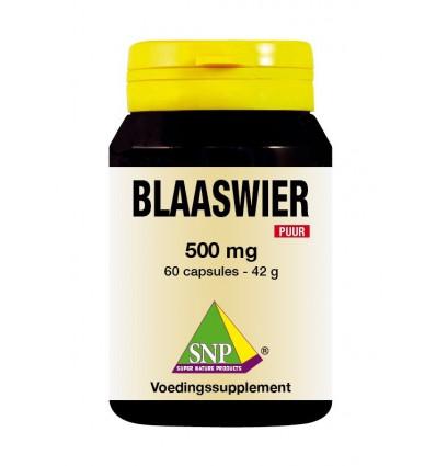 SNP Blaaswier 500 mg puur 60 capsules | € 13.69 | Superfoodstore.nl