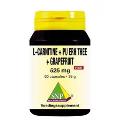 SNP L Carnitine pu erh grapefruit 60 capsules |