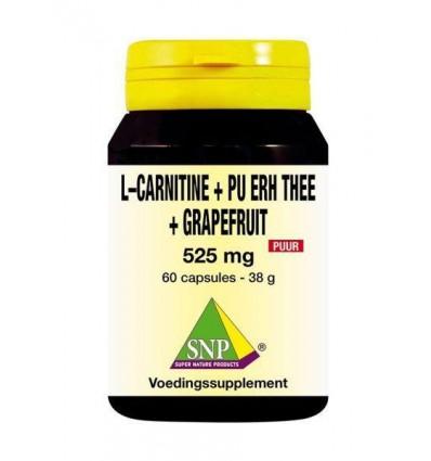 L-Carnitine SNP L Carnitine pu erh grapefruit 60 capsules kopen