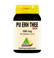 Voedingssupplementen SNP Pu erh thee 350 mg puur 60 capsules