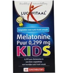 Lucovitaal Melatonine kids puur 0.299 mg 30 tabletten | € 3.55 | Superfoodstore.nl