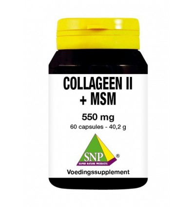 SNP Collageen II + MSM 60 capsules