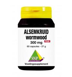 Voedingssupplementen SNP Alsemkruid wormwood 300mg puur 60
