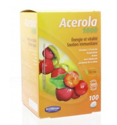 Orthonat Acerola 1000 100 tabletten | Superfoodstore.nl