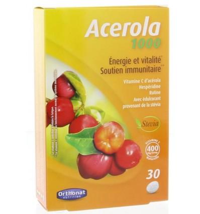 Orthonat Acerola 1000 mg 30 tabletten   € 9.25   Superfoodstore.nl