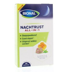 Bional Nachtrust all in 1 20 capsules | Superfoodstore.nl