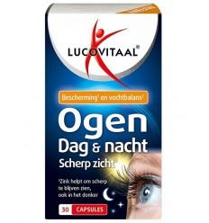 Lucovitaal Ogen dag en nacht scherp zicht 30 capsules  
