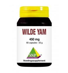 SNP Wilde yam 450 mg 60 capsules | € 15.45 | Superfoodstore.nl